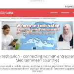 "EMEA participated to ""Women in tech salon – connecting women entrepreneurs from Mediterranean countries"" event"