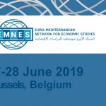 "EMNES 3rd Annual Conference – 2019: ""Towards A Regional Integration and Employment Driven Socio-Economic Model in the Mediterranean: A Comprehensive Policy Roadmap"""