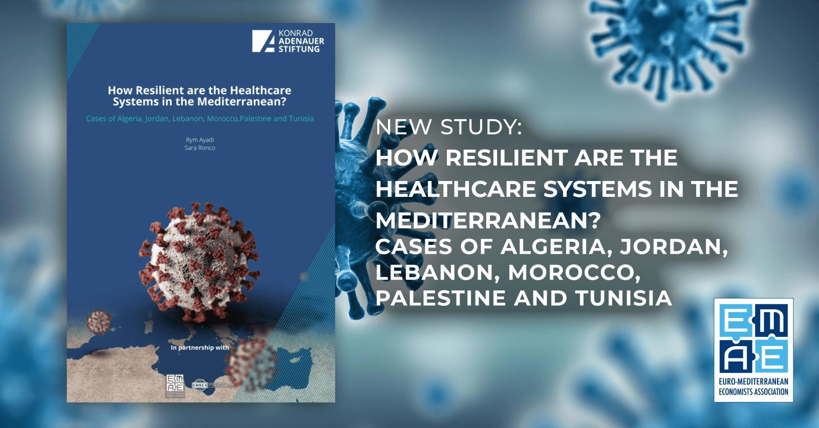 New Study: How Resilient are the Healthcare Systems in the Mediterranean? Cases of Algeria, Jordan, Lebanon, Morocco, Palestine and Tunisia
