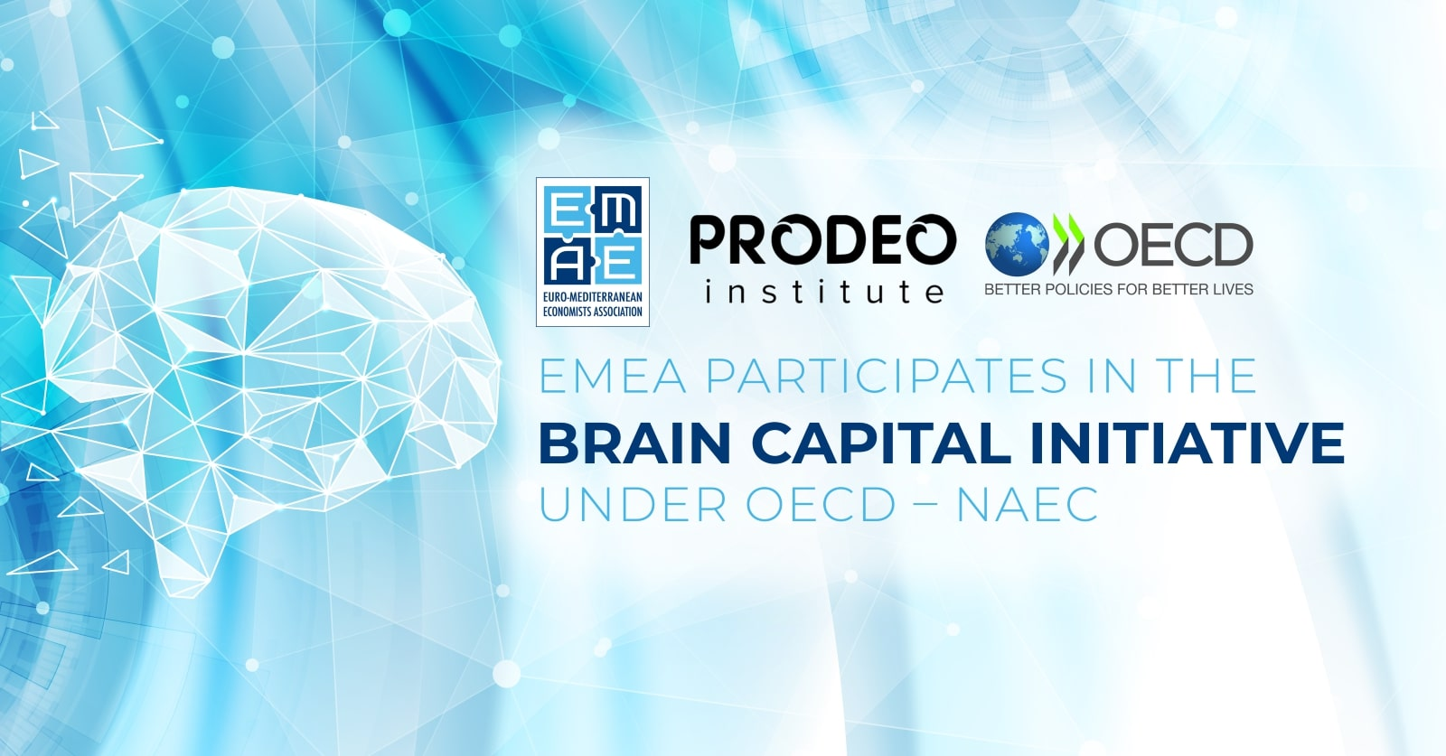 EMEA participates in the Brain Capital Initiative under OECD – NAEC