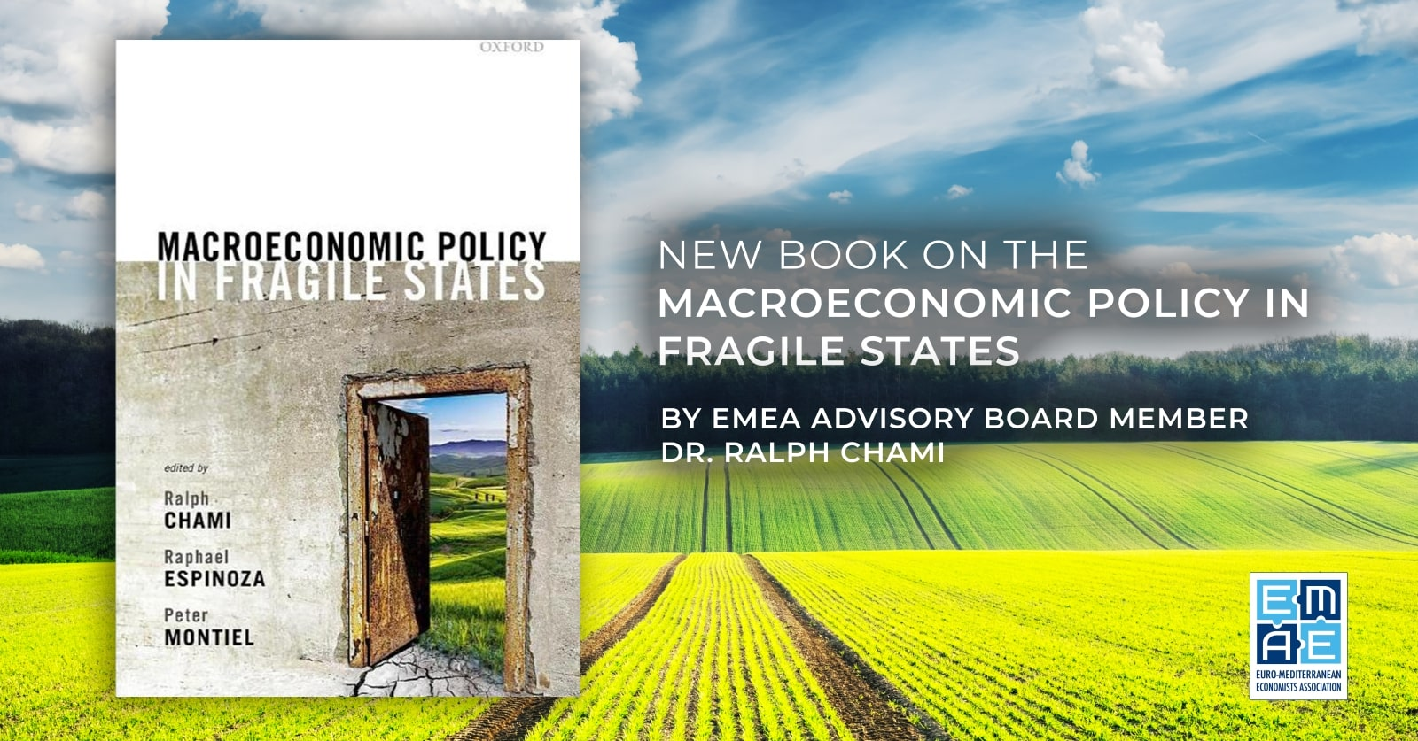 "New book on the ""Macroeconomic Policy in Fragile States"" by EMEA Advisory Board member Dr. Ralph Chami"
