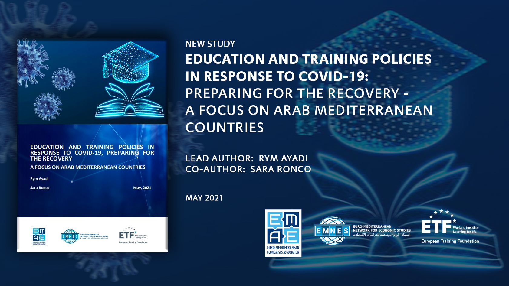 Education and Training Policies in Response to COVID-19: Preparing for the Recovery – A Focus on Arab Mediterranean Countries